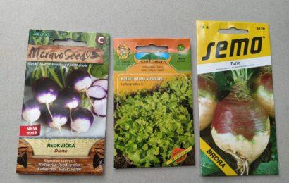 Bytový zahradník 4. Nakupujeme semena v obchodě